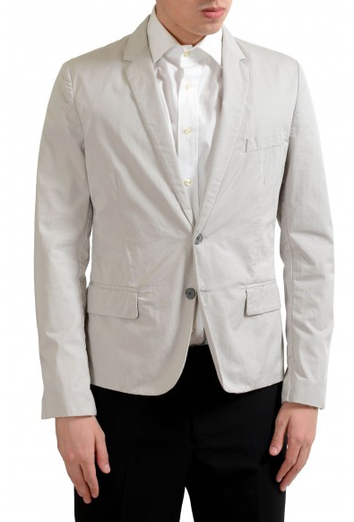 Dolce & Gabbana Men's Gray Light Two Button Blazer Sport Coat