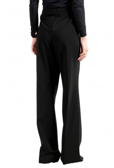 """Hugo Boss Women's """"Tulea_SideZip"""" Black Wool Dress Pants: Picture 2"""