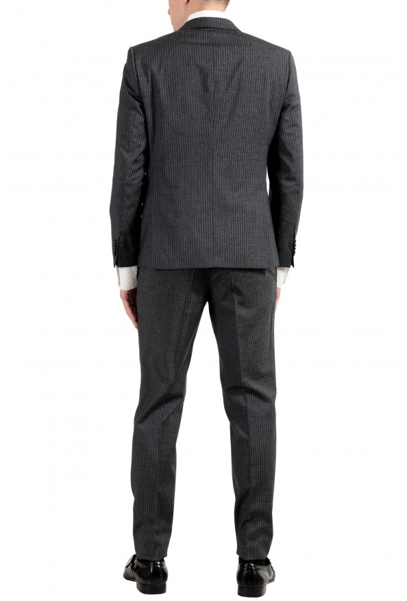 """Hugo Boss """"Reymond/Wented"""" Men's Silk Wool Striped Gray Slim Two Button Suit: Picture 5"""