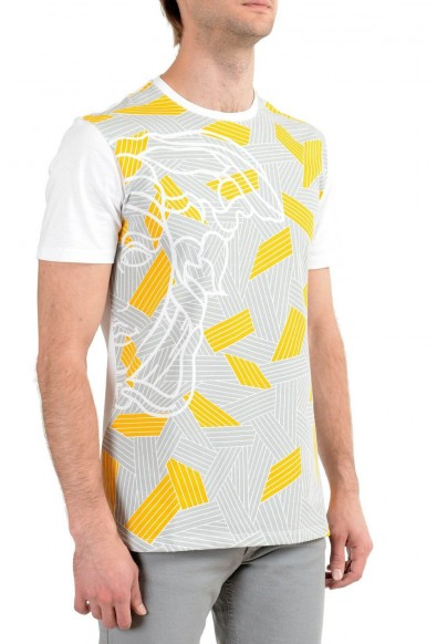 Versace Collection Men's Multi-Color Graphic Short Sleeve Crewneck T-Shirt: Picture 2