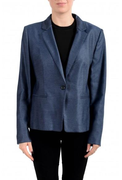 "Hugo Boss Women's ""Asima"" Blue One Button Blazer"
