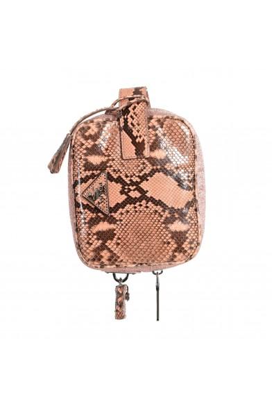 Prada Women's Pink Python Skin Leather Bag Clutch