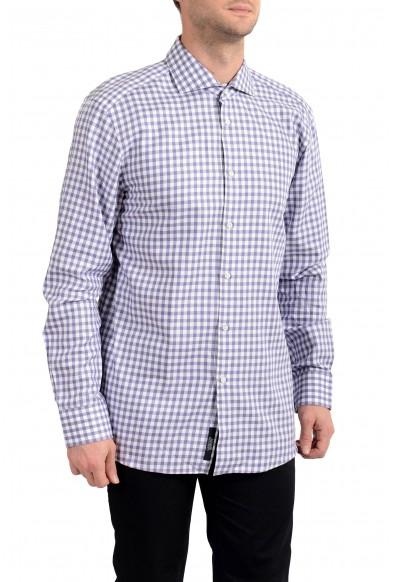 "Hugo Boss Men's ""T-Christo"" Plaid Slim Fit Long Sleeve Dress Shirt"