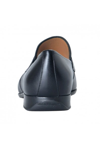 "Salvatore Ferragamo ""Laramie"" Men's Leather Black Loafers Slip On Shoes: Picture 2"