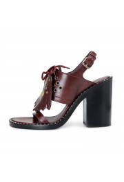 Burberry London Women's Beverley Leather Ankle Strap Heeled Sandals Shoes: Picture 3