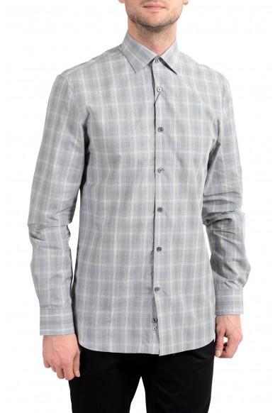 John Varvatos Multi-Color Slim Fit Long Sleeve Men's Shirt