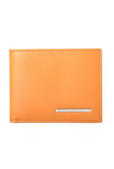 Salvatore Ferragamo Men's Light Brown 100% Leather Bifold Wallet