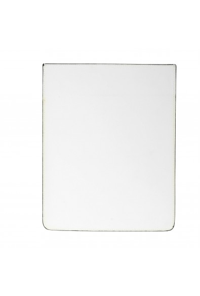 Versus Versace White Textured Leather Cover Case: Picture 2
