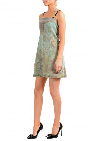 Just Cavalli Women's Multi-Color Distressed Look Mini Dress: Picture 2