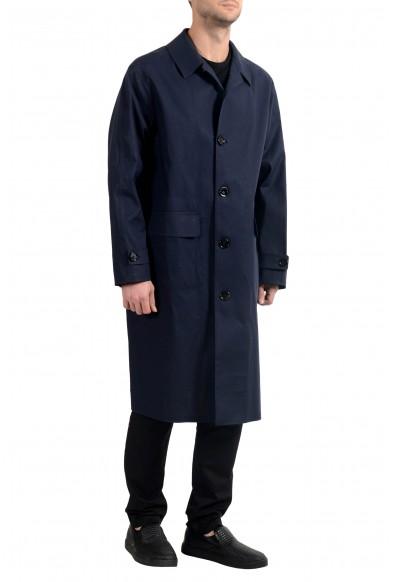 "Hugo Boss ""Garris"" Men's Dark Blue Relaxed Fit Trench Coat: Picture 2"
