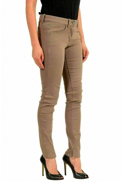 Moncler Women's Gray Stretch Skinny Casual Pants: Picture 2