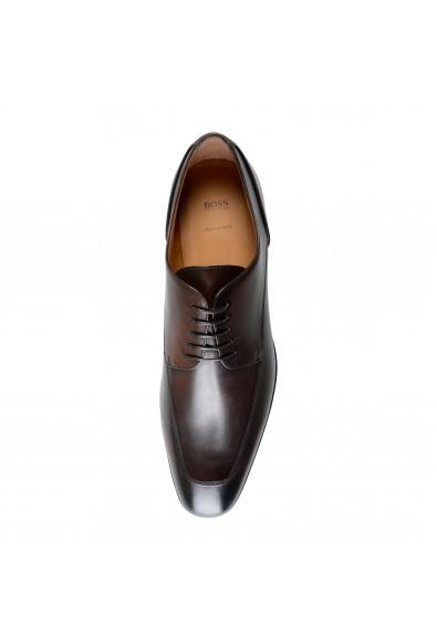 "Hugo Boss Men's ""Portland_Derb_Itap"" Dark Brown Leather Derby Shoes: Picture 2"