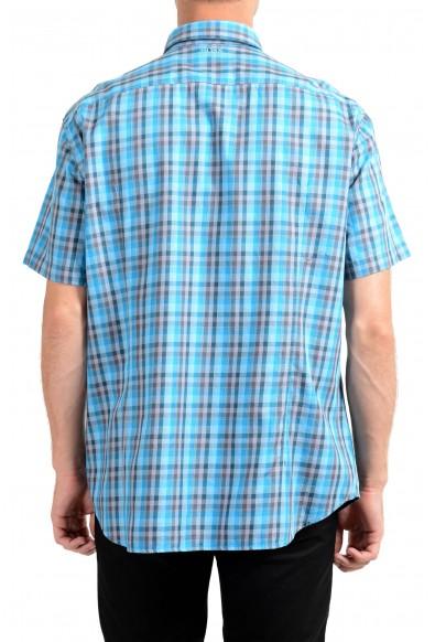 Hugo Boss Men's C-Bowa Regular Fit Plaid Short Sleeve Casual Shirt: Picture 2