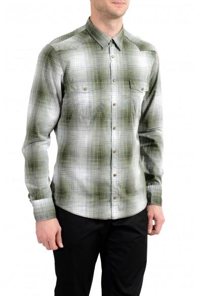 "Hugo Boss ""Erodeo_1"" Men's Slim Plaid Long Sleeve Casual Shirt : Picture 2"