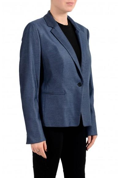 "Hugo Boss Women's ""Asima"" Blue One Button Blazer: Picture 2"