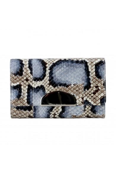 "Maison Martin Margiela ""1"" Women's Python Skin Leather Wallet Clutch"