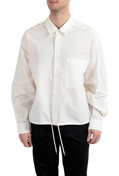 Hugo Boss Men's White Long Sleeve Casual Shirt