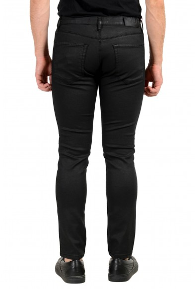 "Hugo Boss Men's ""HUGO 734"" Skinny Fit Black Wash Stretch Jeans: Picture 2"