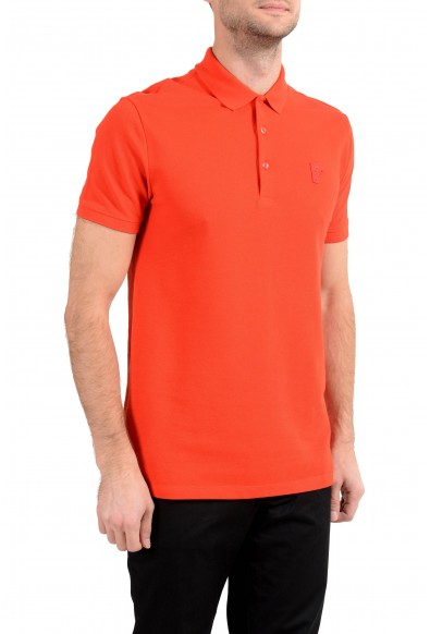 Versace Collection Men's Red Short Sleeve Polo Shirt: Picture 2