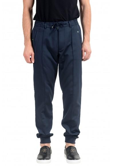 "Hugo Boss ""Lukes4"" Men's Blue Slim Fit Casual Pants"