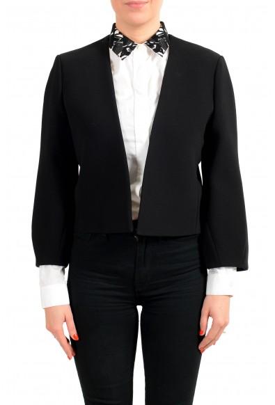 "Hugo Boss Women's ""Jekety"" Black Buttonless Blazer"