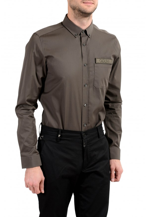 """Hugo Boss """"Emingway"""" Men's Straight Fit Long Sleeve Casual Shirt: Picture 3"""