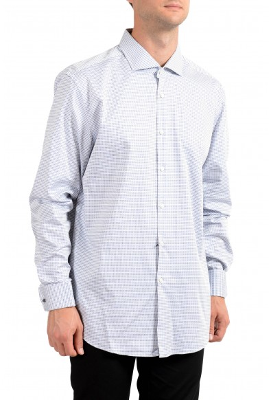 "Hugo Boss Men's ""Jaiden"" Slim Fit Plaid Long Sleeve Dress Shirt"