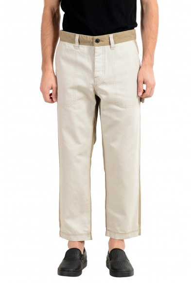 """Hugo Boss """"Salt"""" Men's Tapered Fit Cropped Casual Pants"""