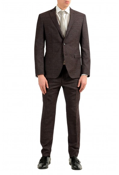 """Hugo Boss """"Reyno2/Wave1"""" Men's 100% Wool Two Button Suit"""