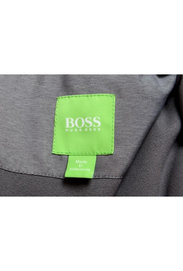 """Hugo Boss """"Jamick Pro"""" Men's Gray Zip Windbreaker Jacket: Picture 6"""
