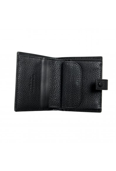 Burberry Unisex Black Perforated Leather Bifold Wallet: Picture 2
