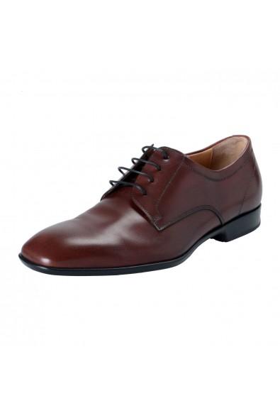 "Salvatore Ferragamo Men's ""CANTU 1"" Leather Oxfords Shoes"