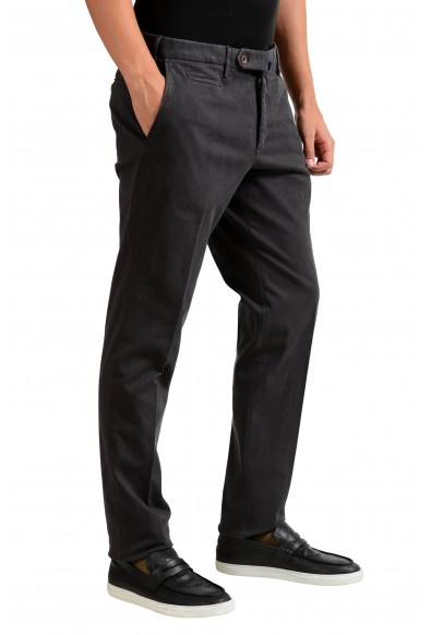 "Slowear Incotex ""Skin Fit"" Men's Dark Gray Casual Pants: Picture 2"