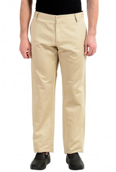 Just Cavalli Beige Men's Casual Pants