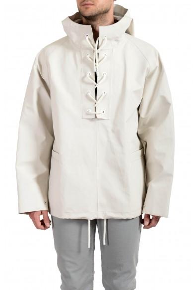 """Hugo Boss """"Gelly1_FS"""" Men's Hooded Windbreaker Rain Jacket"""