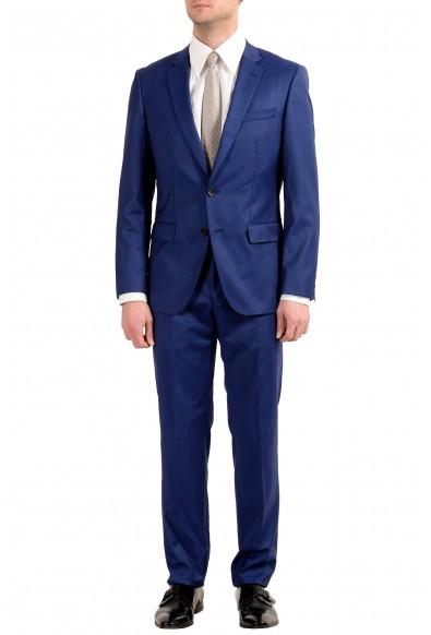 """Hugo Boss """"Huge6/Genius4"""" Men's 100% Wool Slim Two Button Suit"""