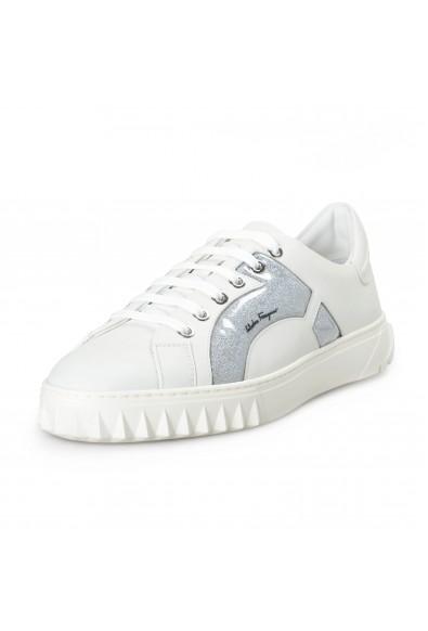 """Salvatore Ferragamo Women's """"Mollia"""" Leather Fashion Sneakers Shoes"""