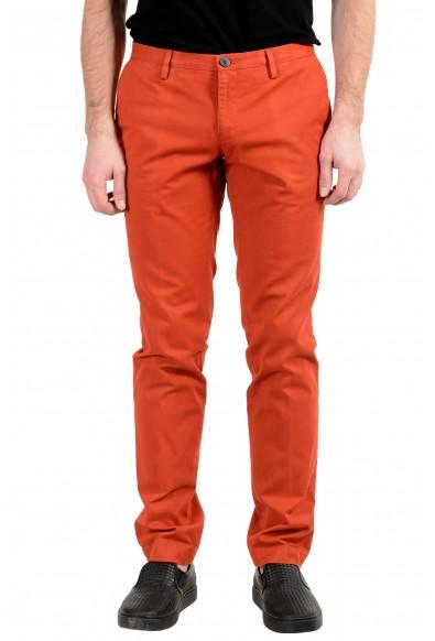 "Hugo Boss ""Stanino16-W"" Men's Red Stretch Slim Casual Pants"