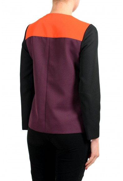 Viktor & Rolf Multi-Color Henley 3/4 Sleeve Women's Blouse: Picture 2