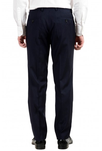 "Hugo Boss ""Jerron/Lenon1WE"" Men's 100% Wool Blue Two Button Three-Piece Suit: Picture 2"