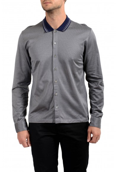 Malo Men's Multi-Color Long Sleeve Casual Shirt
