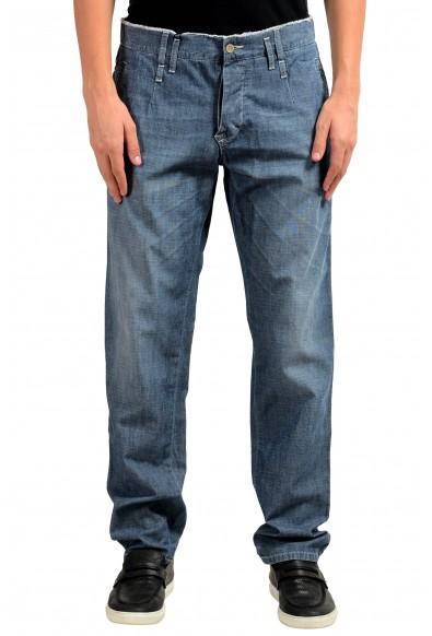 Dolce & Gabbana Men's Blue Casual Pants