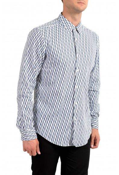"Hugo Boss Men's ""Ronni _F"" Slim Fit Striped Long Sleeve Casual Shirt"