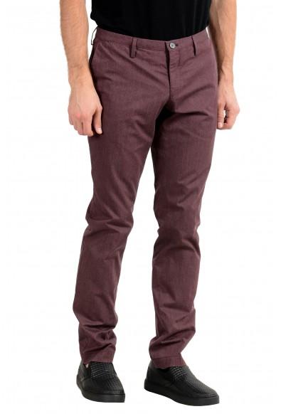 "Hugo Boss ""Stanino16-W"" Men's Purple Slim Casual Pants : Picture 2"