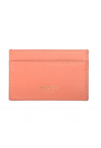 "Jimmy Choo Women's Powder Pink Leather ""Athini"" Card Holder"
