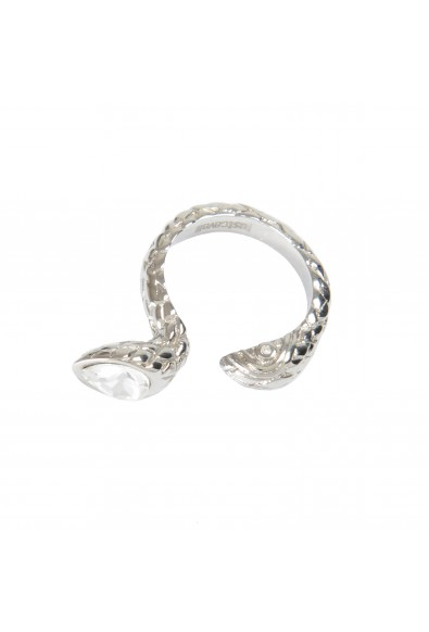 Just Cavalli Unisex Silver Metal Snake Ring : Picture 2