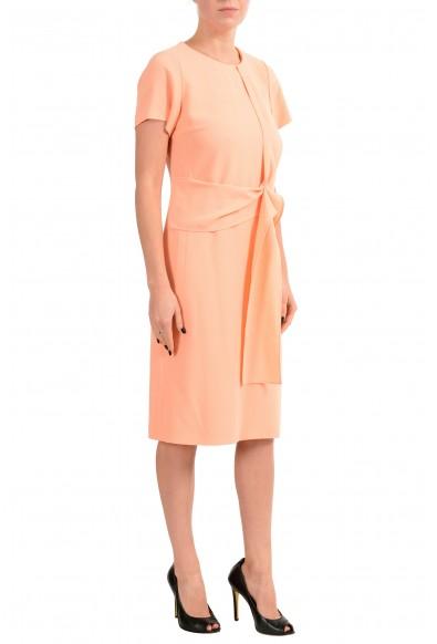 "Hugo Boss ""Kilone"" Women's Peach Short Sleeve Sheath Dress : Picture 2"