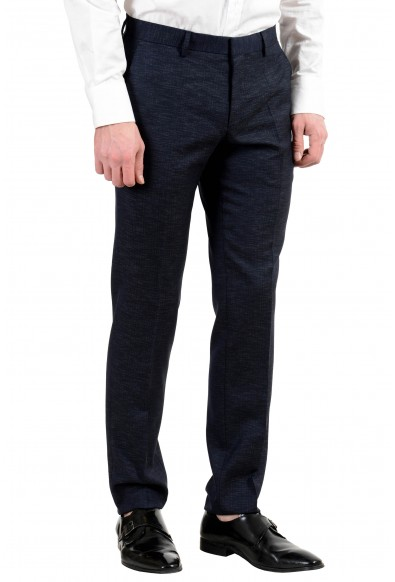 "Hugo Boss ""Huge6/Genius5"" Men's Wool Slim Dark Blue Two Button Suit: Picture 2"