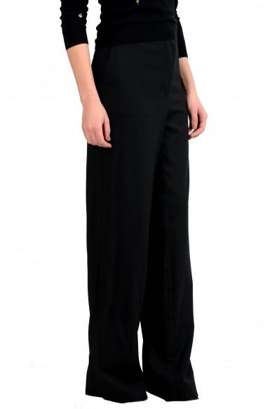 Maison Margiela 4 Women's Wool Eased Shape Black Dress Pants : Picture 2