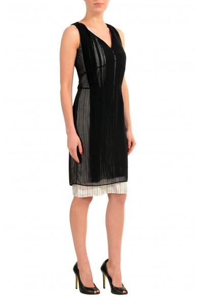 Maison Margiela 1 Women's Layered Fringed Sleeveless Cocktail Dress: Picture 2